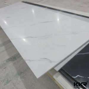 12mm Pure White Artificial Stone Acrylic Solid Surface pictures & photos