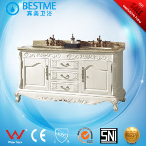 USA Style Modern Bathroom Furnture Free-Standing Cabinet Vanity by-F8001 pictures & photos