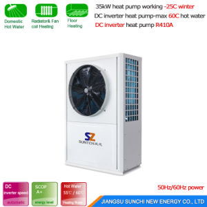 -25c Cold Winter House Heating 10kw/15kw/20kw/25kw Evi Geothermal Ground Source Heat Pump Prices Water to Water pictures & photos