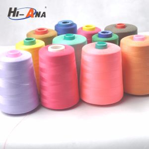 Within 2 Hours Replied Dyed Spun Polyester Thread pictures & photos