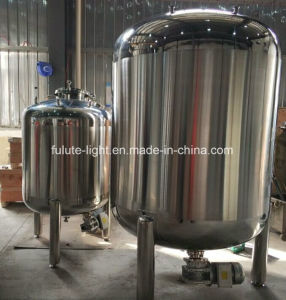 1000L Sanitary Stainless Steel Phramaceutical Liquid Mixing Tank with Magnetic Mixer pictures & photos