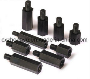 M3 Nylon Hex Threaded Female to Male Standoff/Spacer (Color: Black) pictures & photos