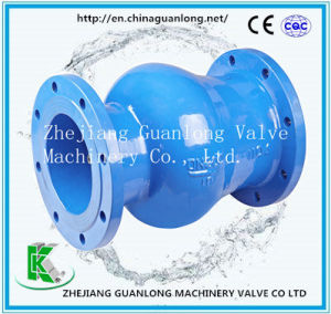 (ZSH41H) Wcb Venturi Nozzle Axial Flow Non Return Check Valve pictures & photos