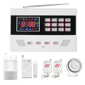 Wireless Home Security GSM Alarm System with APP SMS pictures & photos