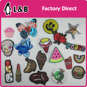 2017 Fashion Embroidery Iron on / Sew on Cute Clothing Patches pictures & photos