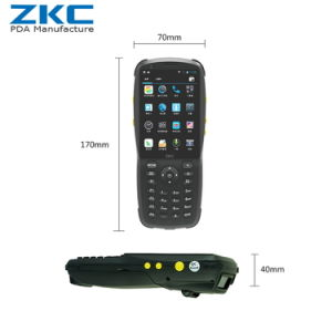 Zkc3501 3G WiFi NFC/RFID GPRS Handheld PDA with Built-in Printer Barcode Scanner pictures & photos