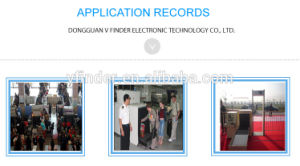 Multi-Zones Walk Through Gates Metal Detector pictures & photos
