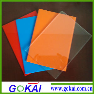Gokai PMMA 3mm Thick Color Acrylic Sheet Manufacturer pictures & photos