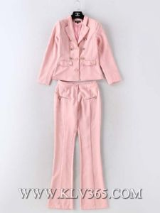 High Fashion Designer Clothing Women Business Suit Top and Pants pictures & photos