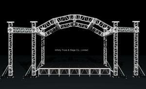 34X34X26FT Aluminum Half-Moom Arc Roof Stage Truss Lighting Truss pictures & photos