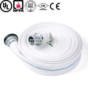 Canvas Cotton Flexible Used Fire Fighting Wearproof Hose pictures & photos