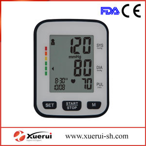 Wrist-Type Automatic Blood Pressure Monitor with Big LCD Display pictures & photos
