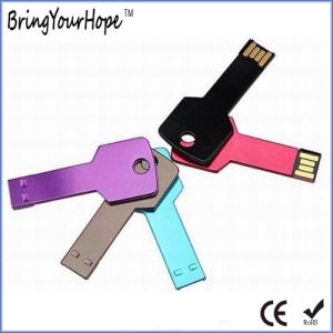16GB Key USB in Grass Green with Laser Logo (XH-USB-054) pictures & photos