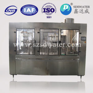 3-in-1 Full Automatic Beverage Filling Machine pictures & photos