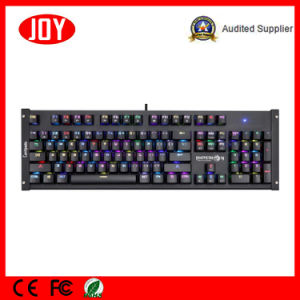 New Model Mechanical Keyboard with Blue Switches RGB pictures & photos
