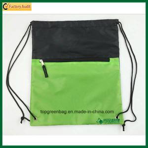 Fashion Custom Polyester Drawstring Backpack Bags Promo Drawstring Rucksacks pictures & photos