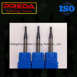 Solid Carbide 2/3/4/6 Flutes Tialn Coating End Mills pictures & photos