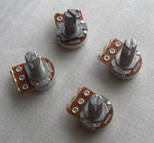 for St Guitar 15mm Handle Mini Guitar Potentiometer pictures & photos
