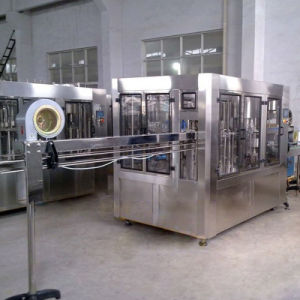 Fully Automatic Complete Small Bottled Drinking Spring Mineral Pure Water Filling Production Line pictures & photos