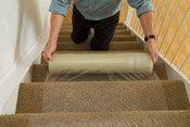 PE Carpet Masking Film (QD-904-1) pictures & photos