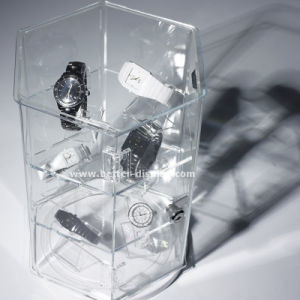 Clear Acrylic Plastic Watch Packaging Box pictures & photos
