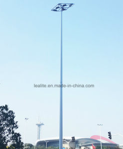 20m Square Lighting Light Galvanized High Mast Pole pictures & photos