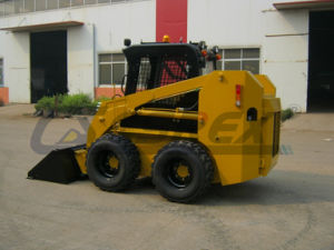 Incubating Brands Articulated Compact Small Mini Wheeled/Track Skid Steer Dumper Loader, Backhoe, Front End Tractor Wheel Loader pictures & photos