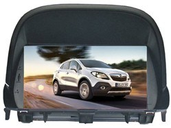 ISUN HD Digital Touch Screen Car Audio Video for Opel Mokka (TS8725)