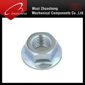 A2 A4 Sustain Steel Hex Flange Nylon Locked Nut pictures & photos