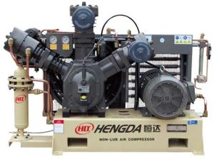 Oil Free High Pressure Air Compressor (WWH-1.2/30) pictures & photos