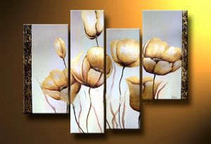 Modern Nice Flower Oil Painting