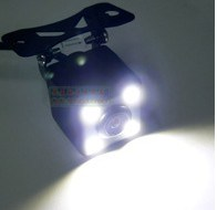Waterproof Night Vision Universal Car Camera with LED - Fron/Back View pictures & photos