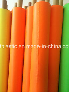 Orange Color PVC Film with 0.06-0.5mm pictures & photos