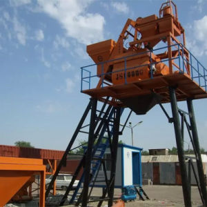 Stable Concrete Mixing Plant Skip Type, (HZS50) Concrete Mixer pictures & photos