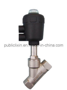 Airtac 2j Water-Hammer No Water Hammer Fluid Angle Seat Valve pictures & photos