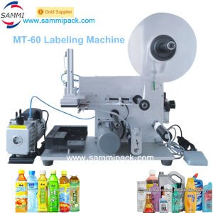 Square Bottle Labeling Machine with Batch Code (MT-60)