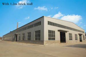 Prefabricated Steel Structure Warehouse with Insulation Cladding (KXD-SSW5) pictures & photos