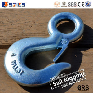 Us Type S320 Drop Forged Eye Hook with Safety Latch pictures & photos