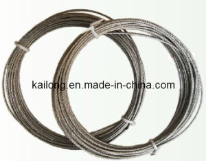 AISI304 7X7-3.0mm Stainless Steel Wire Rope pictures & photos