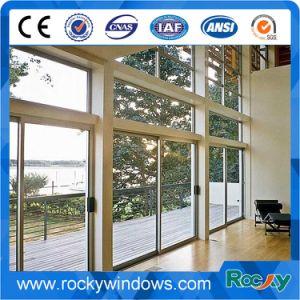 Factory Aluminum Sliding Door Glass Door for Design Entry Door pictures & photos