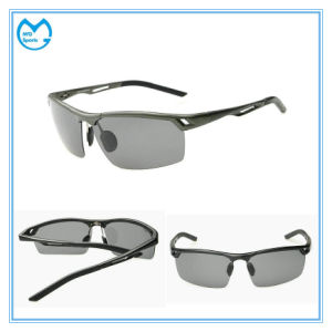 Tac Polarized Aluminum Cycling Polarized Sports Sunglasses for Men pictures & photos