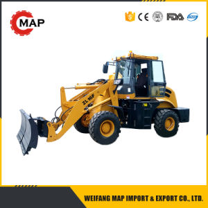 1600kg Rated Loading Wheel Loader with Snow Blade pictures & photos
