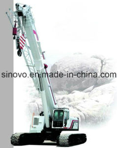 100T capacity hydraulic SQ1000A telescopic crawler crane pictures & photos
