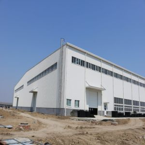 Prefabricated Steel Structure Workshop with Steel Canopy pictures & photos