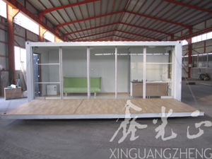 Low Cost and Luxry Container House with Fast Buingding (SZM521) pictures & photos