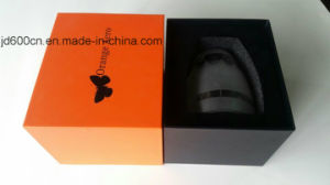 Customized Printing Color Rigid Cardboard Logo Embossing Packaging Box for Glass /Cup/Jar pictures & photos