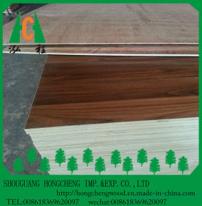 18mm Wooden Grain Melamine Faced Plywood with Best Price pictures & photos