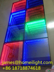 10PCS RGB Full Color Control LED Stage Light Party Infinity Mirror 3D LED Dance Floor pictures & photos