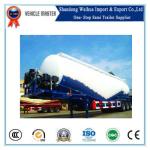 55cbm Double Compartment Bulk Cement Tank Semi Trailer pictures & photos
