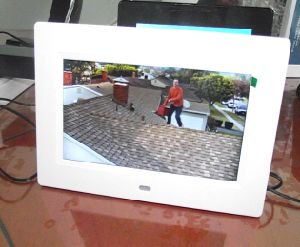 Rechargeable Battery 7 Inch Digital Picture Frame, Digital Photo Frame